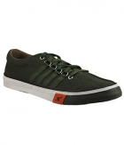 Sparx SCO162G Olive Green Canvas Shoes