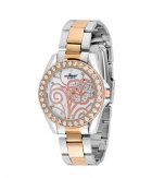 Forest Silver And Gold Analog Watch 018 SD296