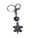 Superdeals Feng Shui Tortoise With Evil Eye Matal Key Chain SD308