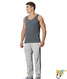 Jockey Solid Sport Mens Track Pants 9507 Grey