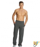 Jockey Solid Sport Mens Track Pants 9508 Charcoal