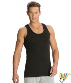Jockey Sport Mens Vest 9922 Black