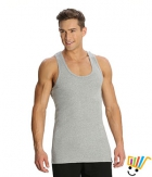 Jockey Sport Mens Vest 9922 Grey