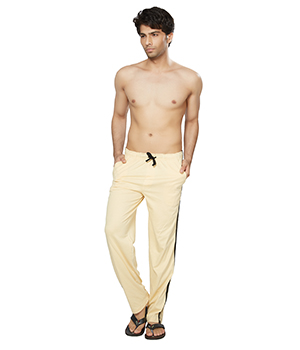 Clifton Mens Coloured Track Pant-Beige AAA00017971