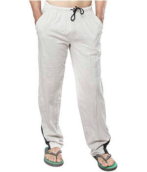 Clifton Mens Coloured Track Pants-Off White AAA00016071