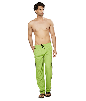 Clifton Mens Coloured Track Pants-Parrot Green AAA00016101