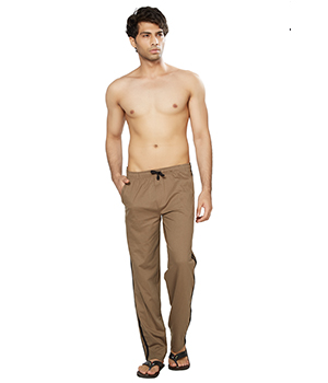 Clifton Mens Coloured Track Pant-Walnut AAA00017967