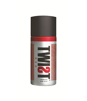 TWIST Red Deodorant A BABA PRODUCT BA020
