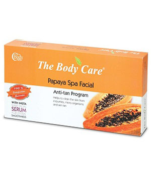 Papaya Spa Facial Kit BC003