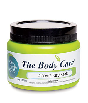 ALOEVERA FACE PACK 100G  BC061