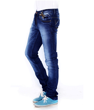 207 Hardy Boys Jeans Mens Denim Cotton Stretch Raw Blue HBJ004