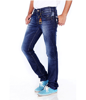 211 Hardy Boys Jeans Mens Denim Cotton Stretch Raw Blue HBJ005