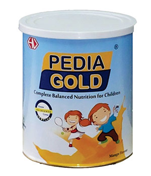 PEDIA GOLD MANGO 400 GM By Hexagon Nutrion PGM400T