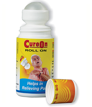 Pack of 3 CUREON 60ml roll on PT023