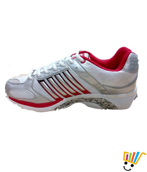 Columbus Ebook Sports Shoes White Red