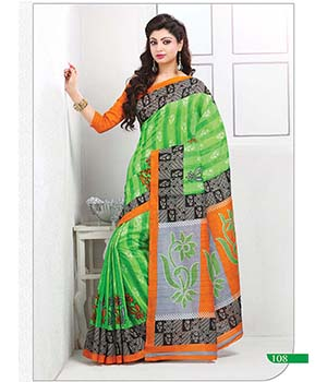Craftliva Gorgeous New Attractive Parrot Designer Saree 115CDS108