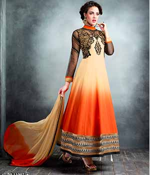 Shoponbit Latest New Multicolor Anarkali Suit SHZL6-11002