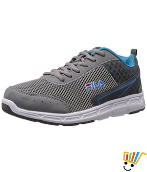 Fila Men Banga Running Shoes Grey Blue