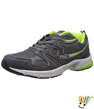 Fila Barrel Running Shoes Grey Green