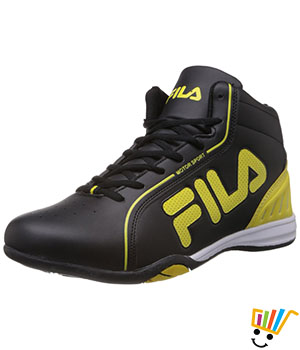 Fila Men Isonzo Sneakers Black Pale Yellow