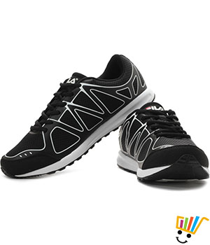 Fila Jameson Running Shoes Black White