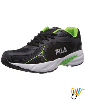 Fila Men Sprint Shoes Black Green