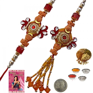 Buy Exclusive Cheap Indian Bhai Bhabhi Rakhi Gift 205