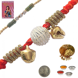 Send Exclusive Raksha Bandhan Cute Beads Rakhi 150