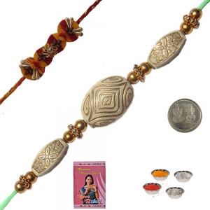 Rakshabandhan Colorful Beads Rakhi for Brother 153