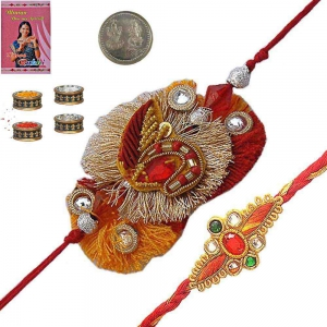 Send Special Designer Rakhi Gifts for Brother 183