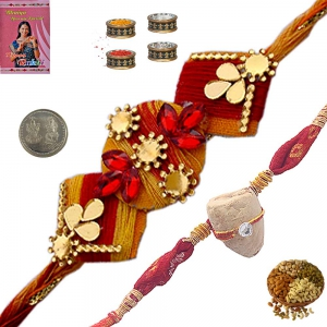 Send Attractive Indian Rakhee Gifts to Brother 186