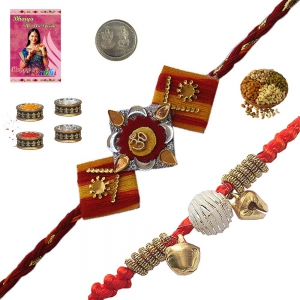 Sending to Brother Online Designer Rakhi Gifts 187