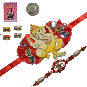 Buy Indian Handcrafted Ethnic Rakhiee Gifts 190