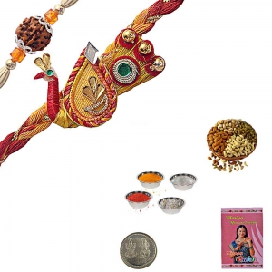 Send Brother Exquisite Trendy Rakhi Festival Gifts 195