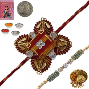 Rakshabandan Exquisite Rakhee Gifts to Brother 127