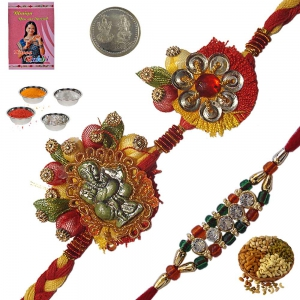 Exclusive Online Designer Rakhi Gift to Brother 129