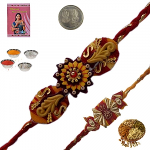 Admirable Handcrafted Rakhee Gifts to Brother 130