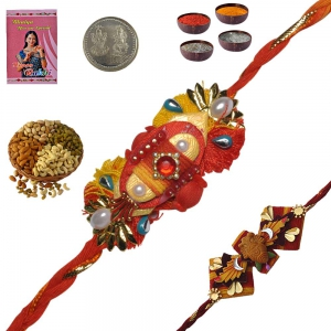 Admirable Handcrafted Rakhee Gifts to Brother 135