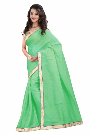 7 Colors Lifestyle Peach Coloured Super Net Embroidered Saree AFKSR113DALYM