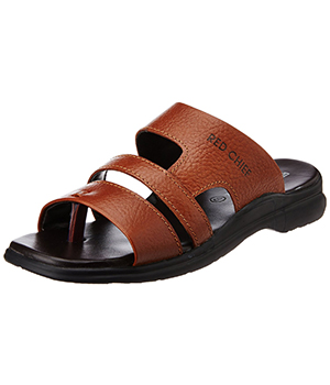 Redchief Mens Leather Sandals and Floaters RC 1331
