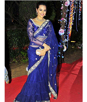 Designer  Embroidery Saree JSP-48-04