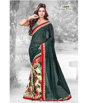 Digital Printed Lace Saree JSP-51-1889