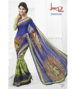 Digital Printed Lace Saree JSP-52-1169
