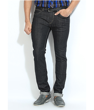 Lee Black Denim Jeans LEJN3948