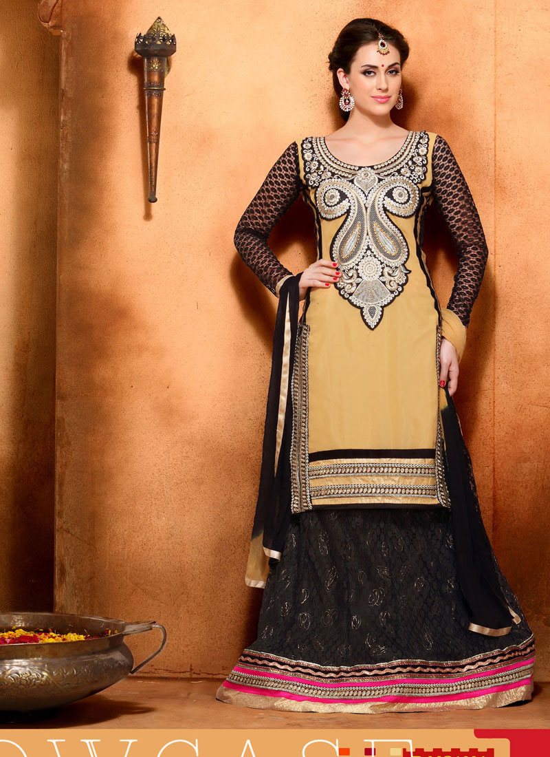 Khantil Latest Cream And Black Designer Lehenga Choli DL6030-1006