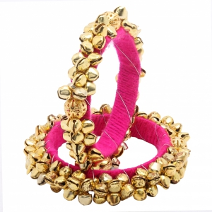 Sai Arisha Party Wear Golden Bangle RH019