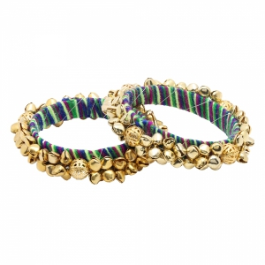 Sai Arisha Gold Ghungroo Style Bangle RHAR05