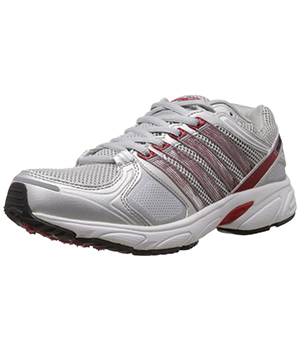 Columbus Battalion Sports Shoes White Red Silver CLB_16
