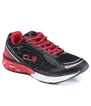 Columbus Mexico Sports Shoes Black Red CLB_10