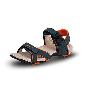 c67ad9acd45 Buy Campus 2K 214 Green Orange Sandal
